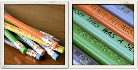 Pencils mini